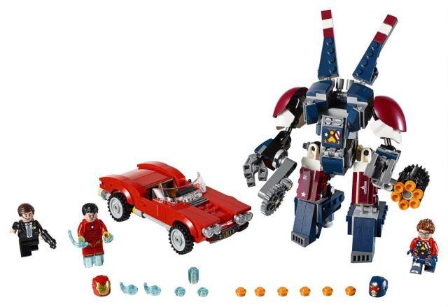LEGO 76077 Marvel Super Heroes Iron Man Detroit Steel Strikes