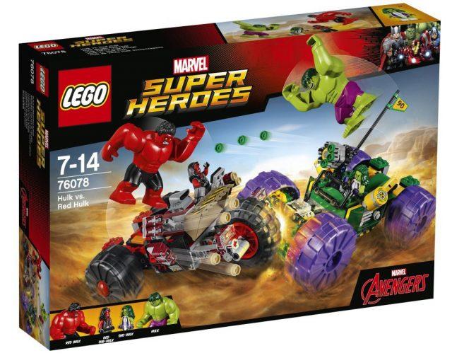 LEGO 76078 Marvel Super Heroes Hulk vs Red Hulk