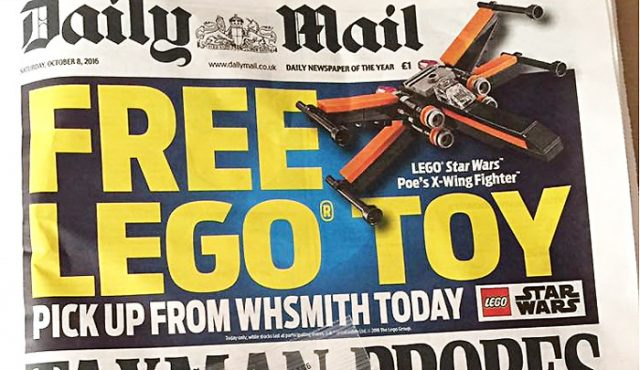 LEGO Daily Mail