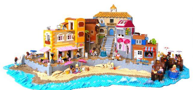 LEGO Friends plage vacances colorées