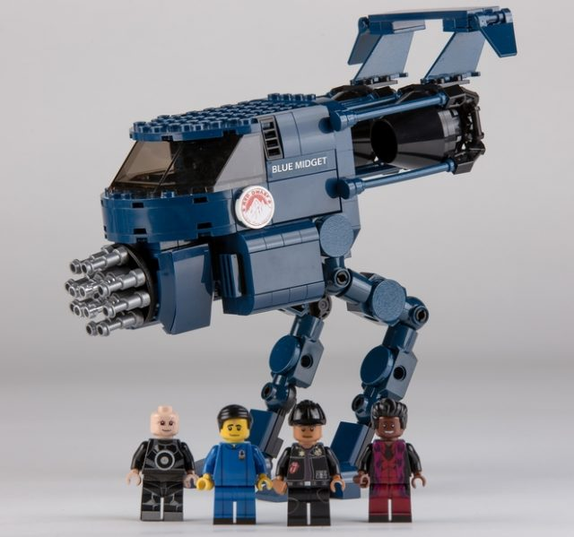 LEGO Ideas projet The Red Dwarf