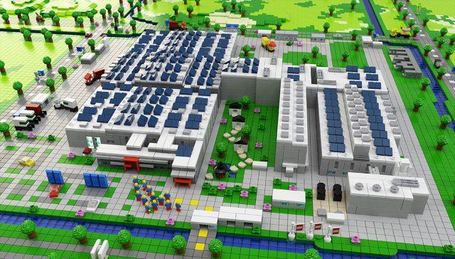 usine LEGO Jiaxing Factory China