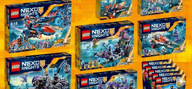 LEGO Nexo Knights 2017 H1