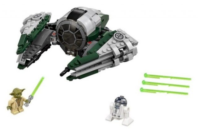 LEGO Star Wars 75168 Yoda's Jedi Starfighter
