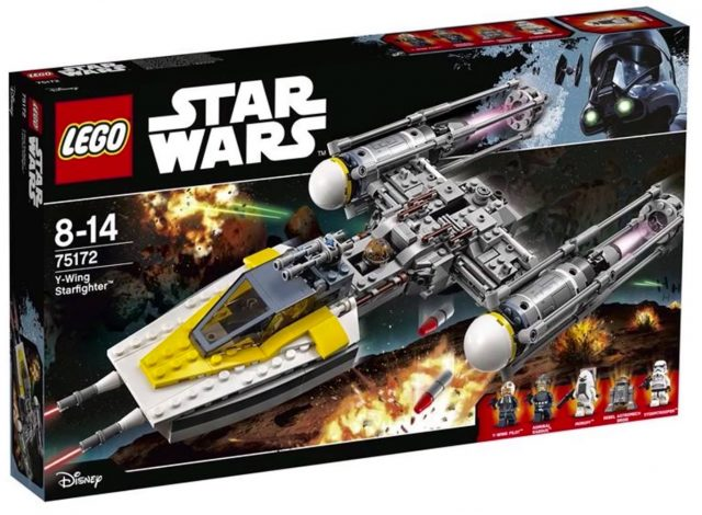 Nouveautés LEGO Star Wars 2017 75172 Y-Wing Starfighter