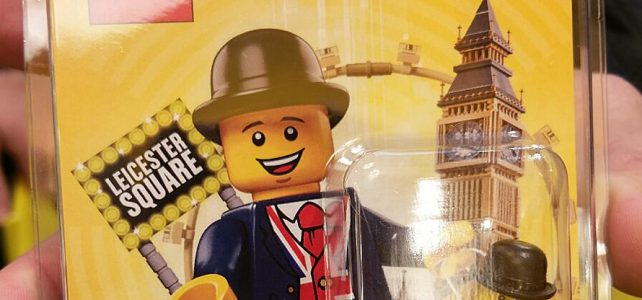 LEGO Store Leicester Lester exclusive minifigure
