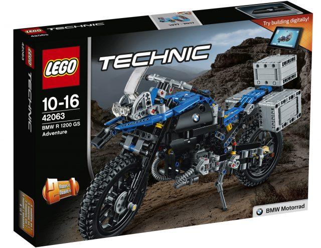 LEGO Technic 42063 BMW R 1200 R Adventure box