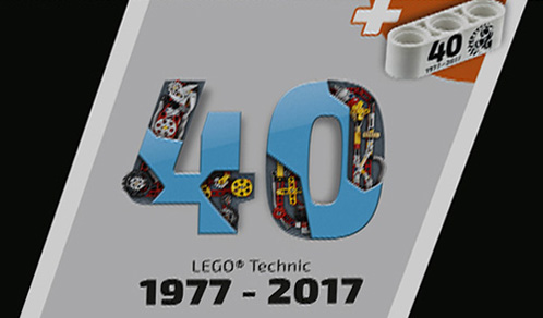 LEGO Technic pièce 40 ans