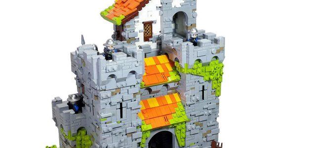 Modern LEGO Castle et couleurs vives
