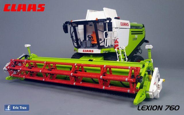 Moissonneuse-batteuse Claas Lexion 760