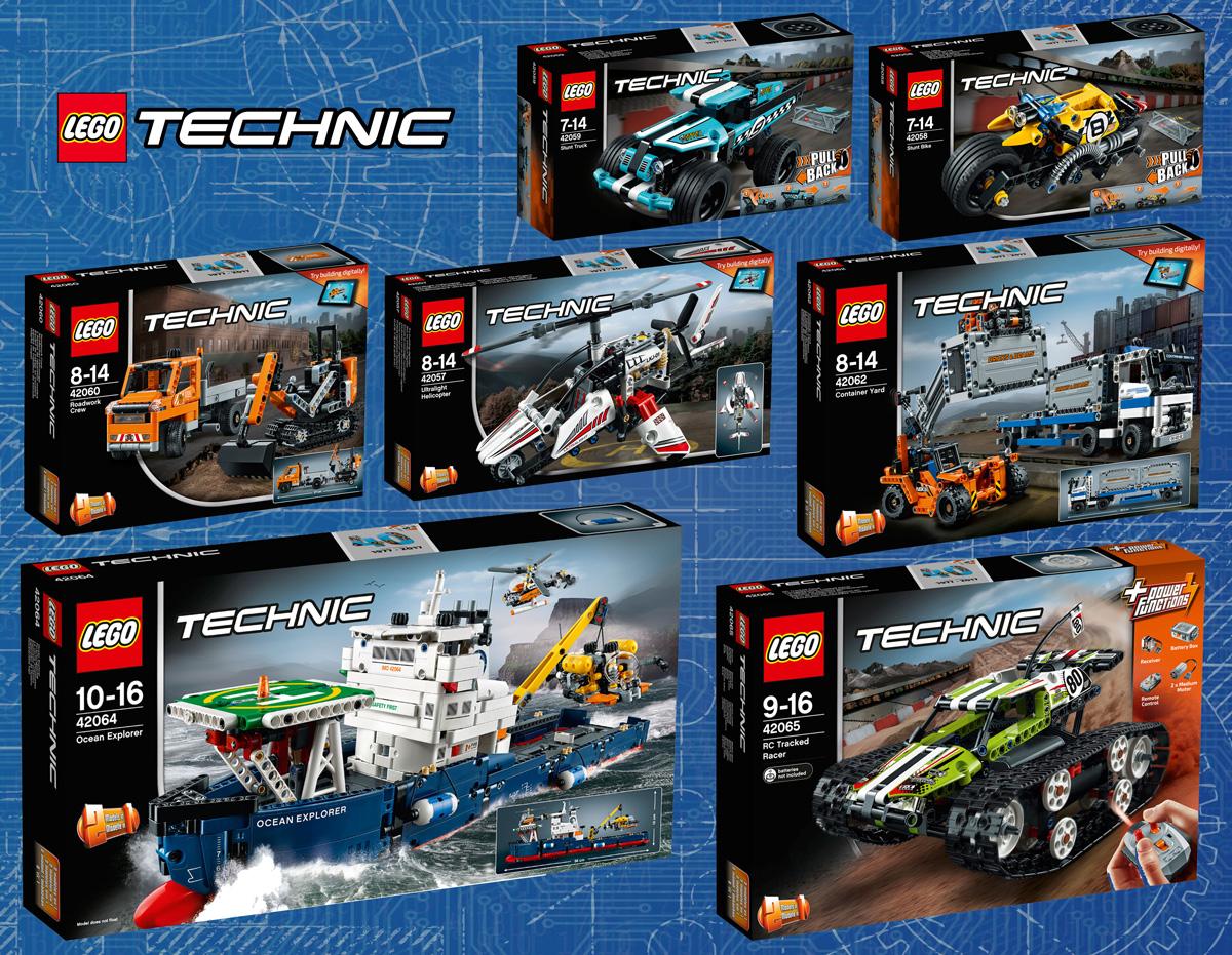Nouveautés LEGO Technic 2017 : les visuels officiels ...