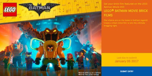 ReBrick concours brickfilm The LEGO Batman Movie