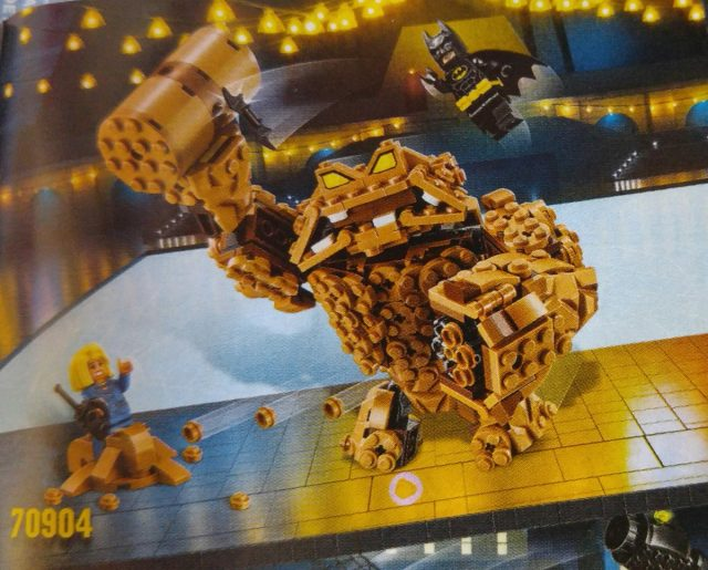 The LEGO Batman Movie 70904 Clayface Splat Attack