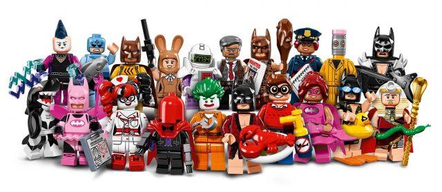 The LEGO Batman Movie minifigs à collectionner