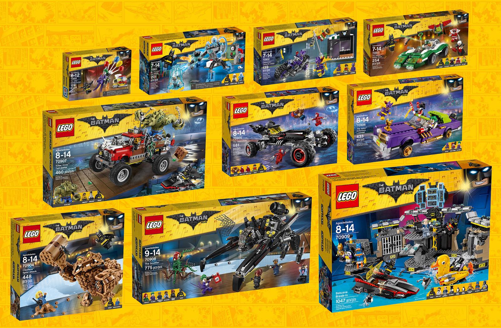 Sets The LEGO Batman Movie : le récapitulatif des visuels ...