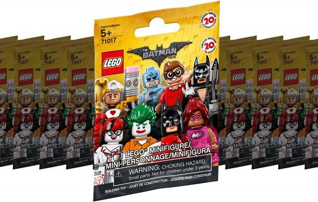 71017 LEGO Batman Minifigures