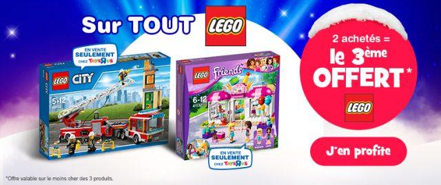 Bon plan Toys R Us LEGO