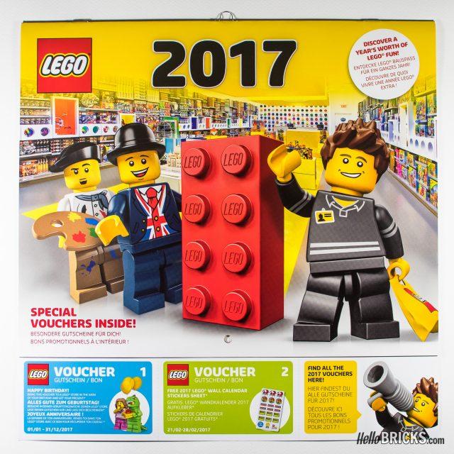 Calendrier LEGO 2017