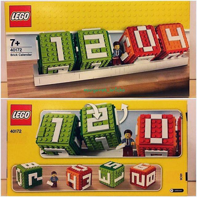 Calendrier LEGO 40172 Brick Calendar