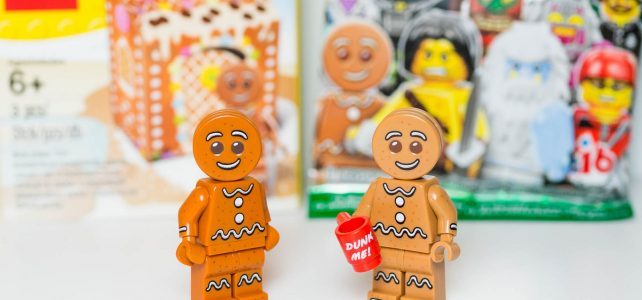 Comparaison Gingerbread Man 5005156 minifig à collectionner