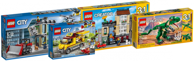 LEGO City 2017 LEGO Creator 2017