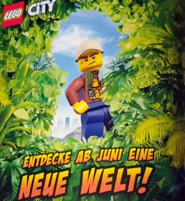 LEGO City 2017 Jungle Explorers