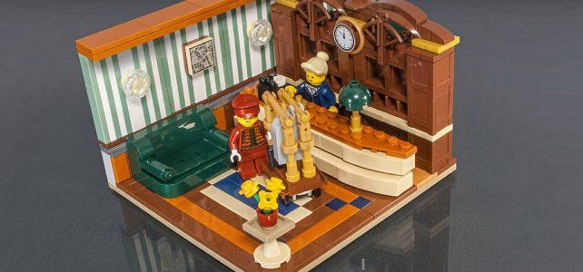 LEGO Grand Hotel reception