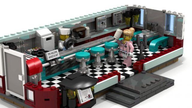 LEGO Ideas 1950's Diner