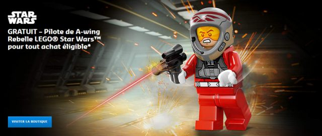 LEGO Rebel A-Wing Pilot