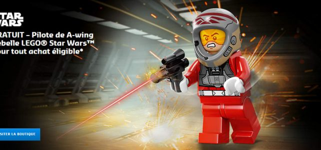 LEGO Rebel A-Wing Pilot