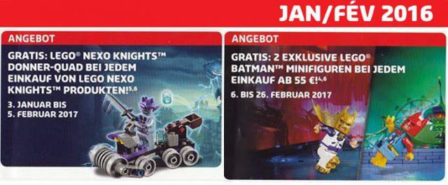 LEGO Store Calendar 2017 polybags