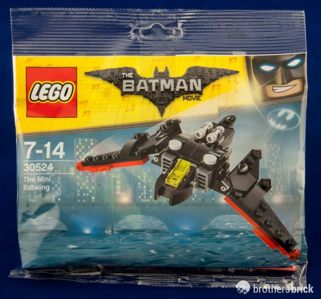 Polybag LEGO 30524 The LEGO Batman Movie Mini Batwing