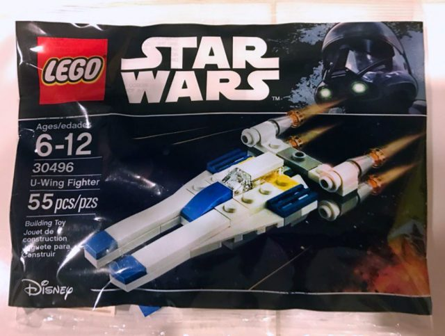 Polybag LEGO Star Wars 30496 U-Wing fighter