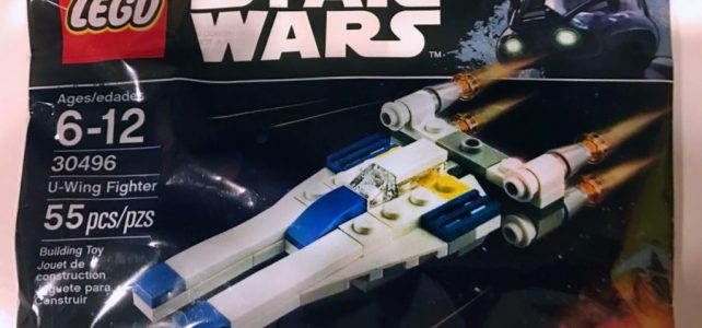 Polybag LEGO Star Wars 30496 U-Wing fighter