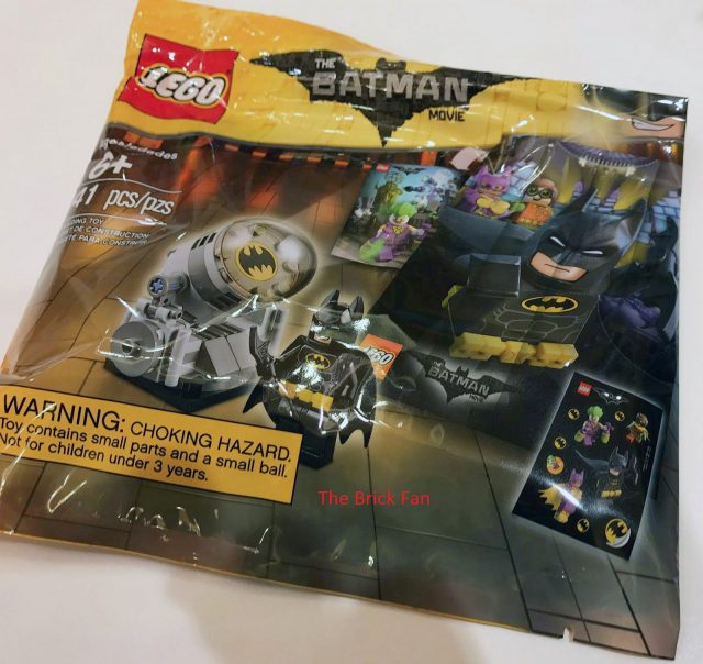 Polybags The LEGO Batman Movie accessoires