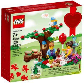 Seasonal 2017 LEGO 40236 Valentine Picnic