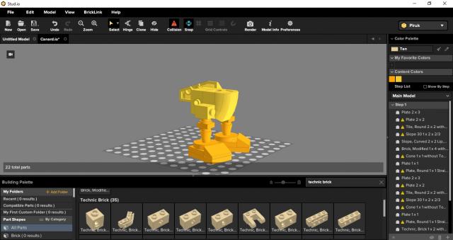 Studio Bricklink beta test