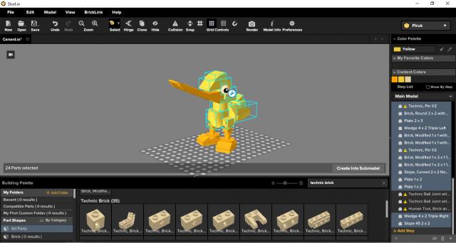 Studio Bricklink beta test 02