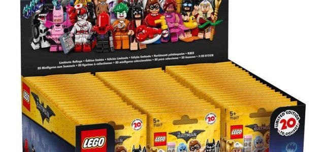 The LEGO Batman Movie Collectible Minifigures 71017