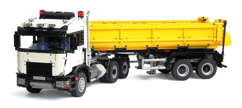 camion lego technic 6x6 totalement contr lable distance. Black Bedroom Furniture Sets. Home Design Ideas