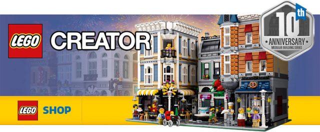 LEGO 10255 Modular Creator Expert Assembly Square