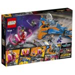 LEGO GotG2 76081 The Milano vs the Abilisk