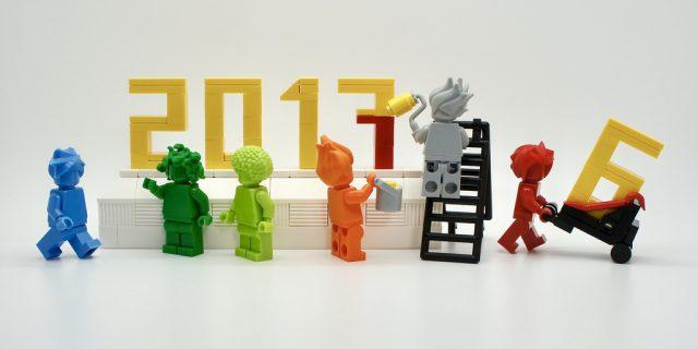 LEGO Happy New Year 2017