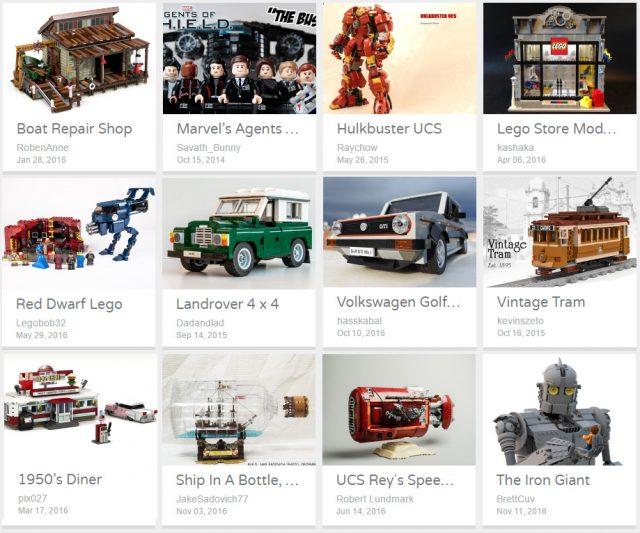 LEGO Ideas 2016 Round #3 les 12 projets retenus (et mon avis !)