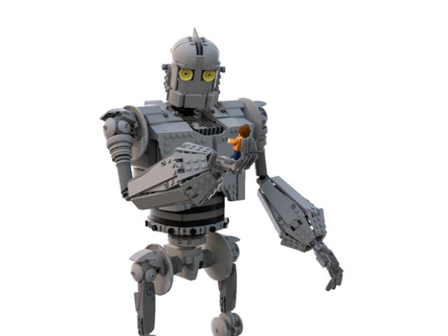 LEGO Ideas The Iron Giant - Le Géant de Fer