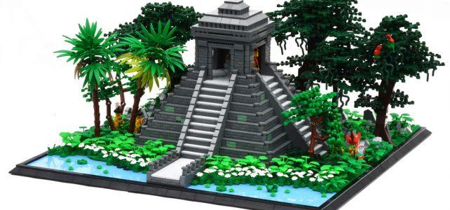 LEGO Jungle Temple - Pyramide Maya
