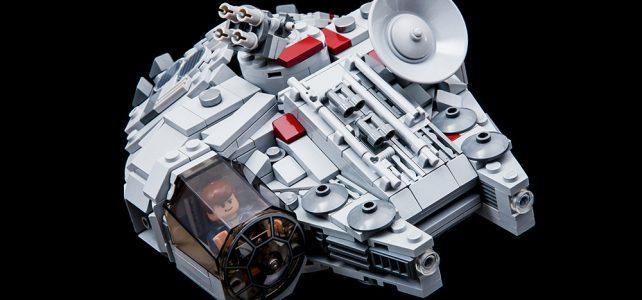 LEGO Mini Millennium Falcon chibi LXF