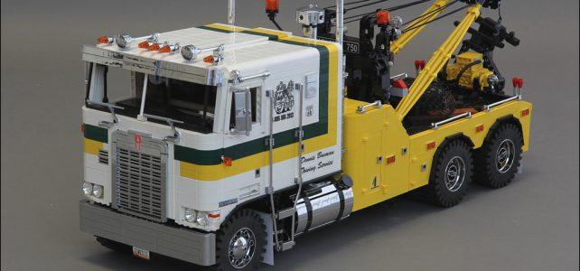 LEGO Model Team et dépanneuse Kenworth K100