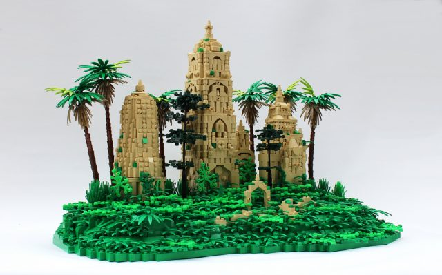 LEGO Ruines Jungle book