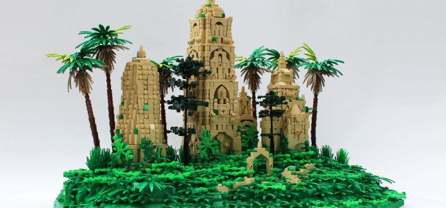 LEGO Ruines Jungle book